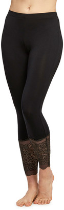 Fleurt Lounge Leggings with Lace Hem