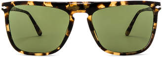 Persol PO3225S in Tortoise Brown Beige & Green | FWRD