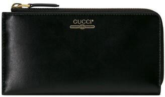 Gucci vintage logo zip-around wallet