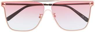Stella Mccartney Eyewear Flat Top Sunglasses