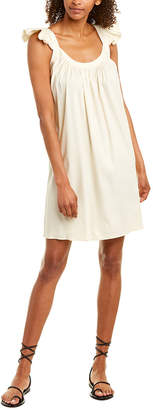 Emerson Fry Little Party Linen-Blend Shift Dress