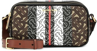 Burberry Monogram Stripe canvas belt bag