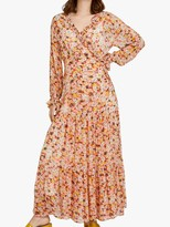 Ghost Jasmine Wrap Dress, Retrol Floral