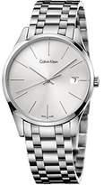 Calvin Klein K4M21146 44mm Silver Steel Bracelet & Case Mineral Men's Watch