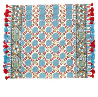 D'Ascoli Samarkand Set Of Four Placemats - Red Multi
