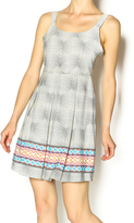 Freeway Geometric Print Dress