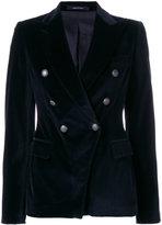 Tagliatore double breasted blazer - women - Cotton/Spandex/Elastane/Cupro/Viscose - 42