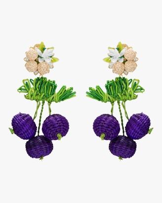 Mercedes Salazar Wild Grape Earrings