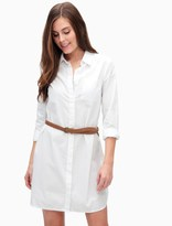 Splendid Crisp Cotton Shirt Dress