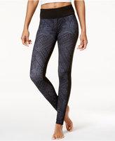 Gaiam Luxe Om Yoga Printed Leggings