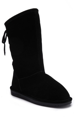 BearPaw Phylly Ghillie Lace Boot with Genuine Sheepskin Footbed (Little Kid & Big Kid)