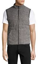 Splendid Mills Heathered Puffer Vest