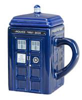 Doctor Who Tardis Ceramic Mug With Lid