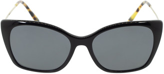 Prada Black Polarized Cat Eye Lenses