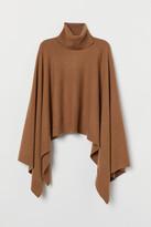 H&M Fine-knit Wool Poncho