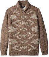 Pendleton Men's Birdseye Pullover Shawl Collar Sweater