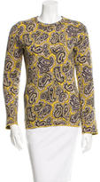 Chloé Paisley Pattern Crew Neck Sweater