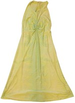 Roberto Cavalli Yellow Dress for Women Vintage