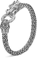 John Hardy Naga Silver Dragon Bracelet with Diamond Pavé, .45 ct. t.w.