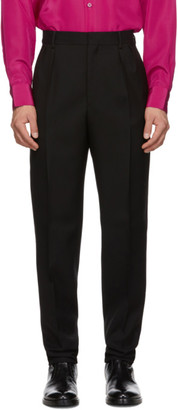 Givenchy Black Slim Fit Trousers