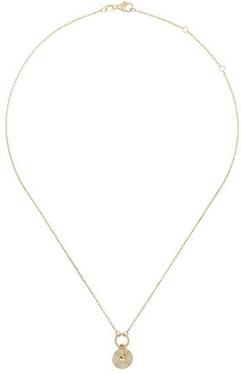 Foundrae multi hoop Champleve Stationary necklace