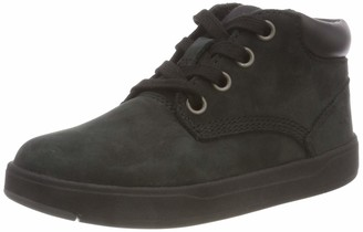 Timberland Unisex Kids' Davis Square Leather Chukka (Toddler) Boots