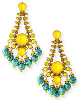 Elizabeth Cole Manon Dangle Earrings