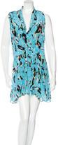 Rebecca Minkoff Abstract Print Silk Dress