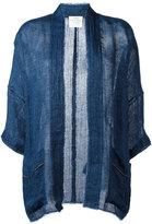 Forte Forte kimono jacket - women - Linen/Flax - II