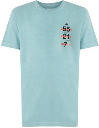 OSKLEN Stone Vintage print T-shirt
