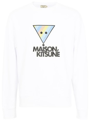 MAISON KITSUNÉ Rainbow sweatshirt