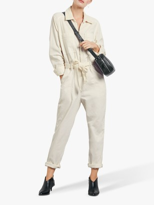 Hush Cord Boiler Suit, Off White