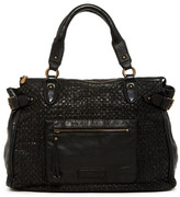 Liebeskind Berlin Kay Leather Woven Tote