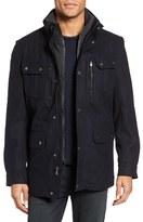 Michael Kors Men's Wool Blend Inset Bib Field Jacket