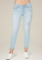 Bebe Jessica Light Wash Jeans
