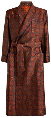 Daniel Hanson Baroque Silk Robe