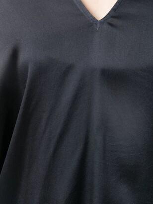 Antonelli draped V-neck blouse