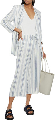 DKNY Striped Woven Blazer