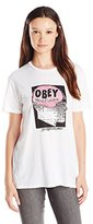 Obey Women's Mind Control Graphic Tee