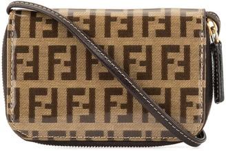 Zucca pattern coin case pochette wallet