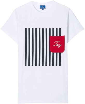 Fay White T-shirt Teen