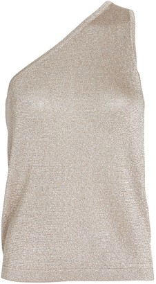 Missoni Lurex One-Shoulder Knit Top