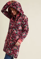 Blutsgeschwister Queen of Cozy Cotton Anorak Coat in M - by from ModCloth