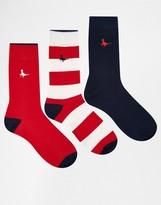 Jack Wills Alandale Sock 3 Pack