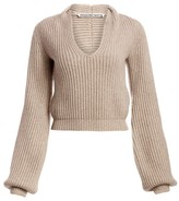 Alexander Wang Ribbed Silk Sweater