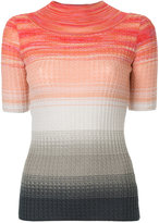 Missoni degradé knitted top