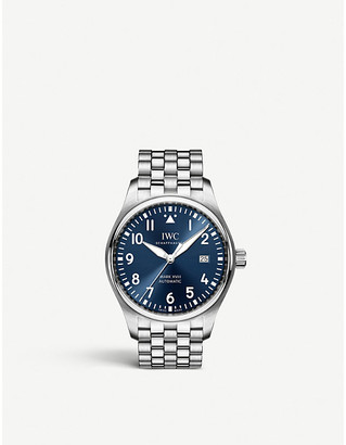 IWC IW327014 Pilot's Mark XVIII stainless steel watch