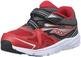 Saucony Boys Baby Ride (Inf/Tod) - Red/Black - 11.5 Toddler