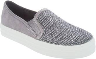 Skechers Embellished Slip On Shoes - Shiny Dancer