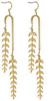 Emily Elizabeth Jewelry Feather Leaf Earrings